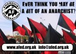 Unused design for the Anarchist Federation